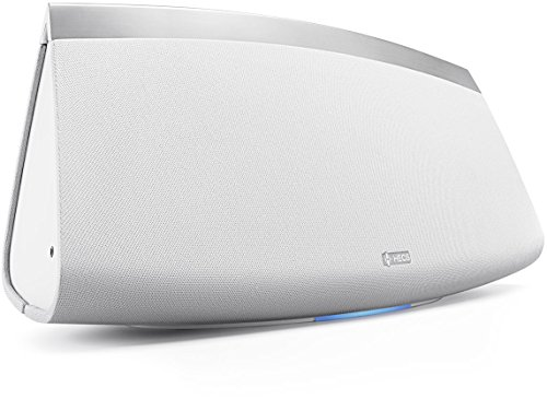 Denon HEOS 7 HS2 Audio-streaming Lautsprecher (Multiroom, Amazon Music, Spotify connect, Deezer, Tidal, Soundcloud, NAS, Bluetooth integriert, WLAN, USB, Appsteuerung, Aux-In, Kopfhörerausgang) weiß