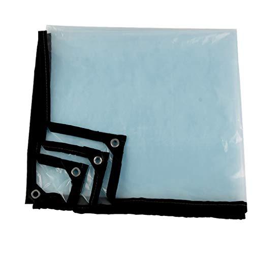 FF tarpaulin Tenda A Prova di Pioggia Impermeabile Serra Tenda A Prova di Pioggia Tenda Antipioggia in Plastica per Esterno 100g / M2, 0.12mm (Dimensioni : 2 * 2.5m)