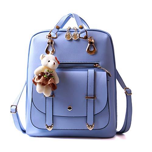 LUI SUI Pu Leder Mini Rucksack lässig wasserdicht Schultasche Reise daypacks niedlich kleine geldbörse für Teen mädchen Damen Frauen