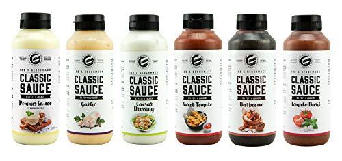 Got7 Classic Sauce Soße Salatsoße Grillsoße Perfekt Zur Diät Abnehmen Fitness Bodybuilding 265ml (4. Mix Box)