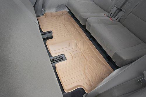 WeatherTech Custom Fit Rear FloorLiner for Toyota Sequoia, Tan