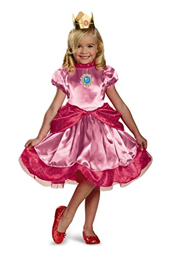 Nintendo Super Mario Brothers Princess Peach Girls Toddler Costume, Small/2T - coolthings.us