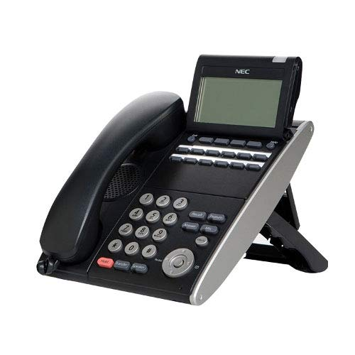 Consumer Electronic Products NEC DTL-12D-1 (BK) - DT300 - 12 Tasten Display Digital-Telefon, Schwarz