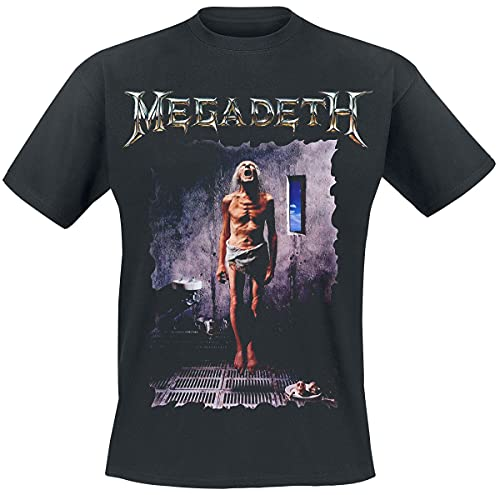 Megadeth Countdown to Extinction Homme T-Shirt Manches Courtes Noir S