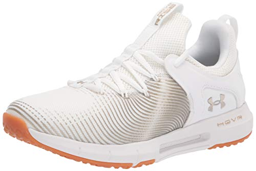 Under Armour womens Hovr Rise 2 Cross Trainer, White (102 White, 8.5 US