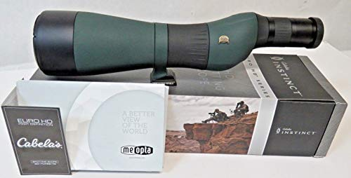 Buy Discount Instinct Cabela's Euro HD 20-70x82 Spotting Scope Straight Miostar S2-82 HD