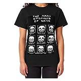 The Many Emotions of Sans Undertale Classic Short Sleeve T Shirt, Hoodie for Men Women DMN103 - Tshirt Black