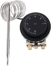 siwetg 250V/380V 16A 0-60℃ Temperatuurregeling Schakelaar Capillaire Thermostaat Gecontroleerde Temperatuurregeling Schakelaar Temperatuurregelaar 0-60 Graden