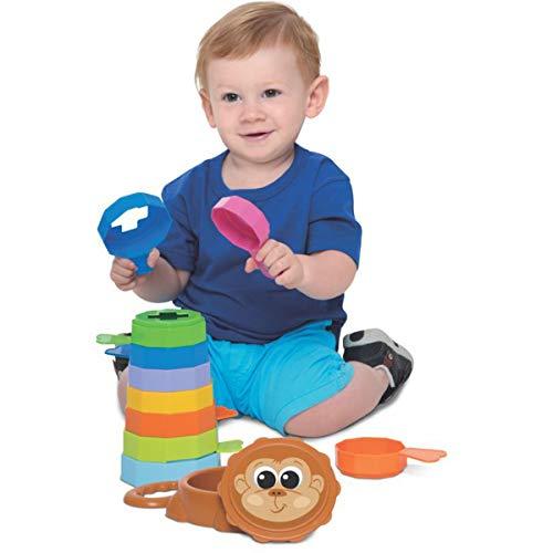 Brinquedo Educativo Baby Macaco Merco Toys