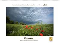 Gedanken... Bildkalender mit Spruechen (Wandkalender 2022 DIN A2 quer): Wandkalender mit Farbfotos und Spruechen (Monatskalender, 14 Seiten )