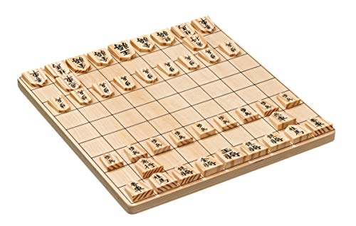 Philos Simple Wooden Shogi Set by