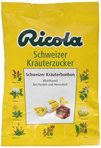 Ricola Schweizer Kräuterzucker, 8er Pack (8x 75 g)
