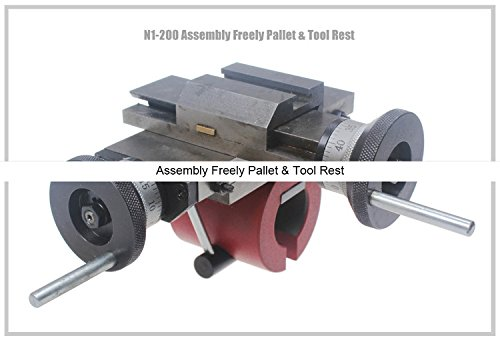 Sale!! N1-200 Assembly Freely Pallet & Tool Rest/SIEG N1/N1L vertically and horizontally plate