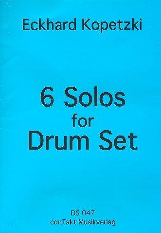 6 Solos: für Schlagzeug