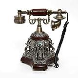 Telephone Vintage-Telefon, Retro-Telefon, Rotary-Dialel-Telefon, Bürotelefon, Wohnzimmerdekoration