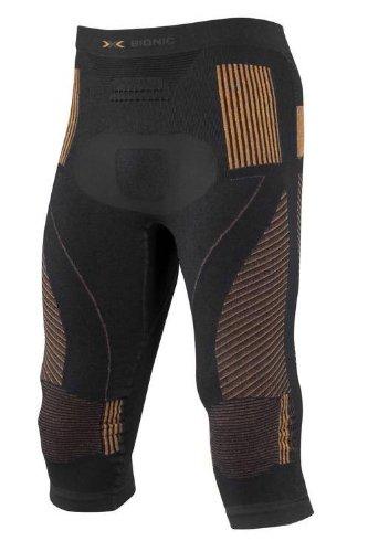 X-Bionic Energy Accumulator Collant 3/4 Homme, Noir/Orange, FR (Taille Fabricant : XXL)