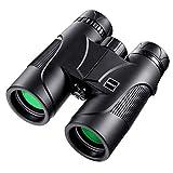 10x42 Professional Binoculars, Compact Binoculars with BAK4 Prism FMC Lens for Outdoor Hunting, Bird Watching,...