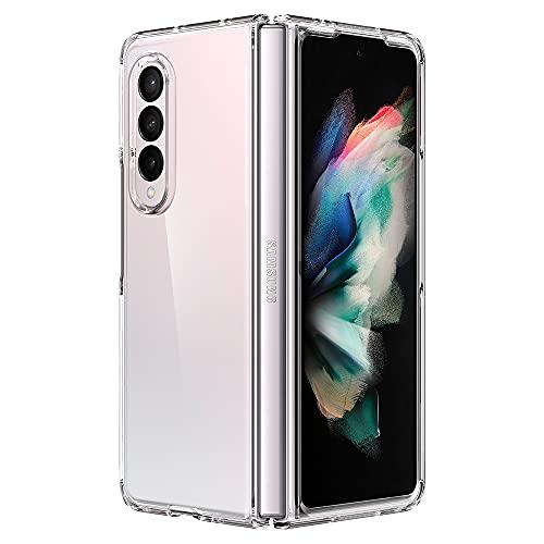 Spigen Ultra Hybrid Hülle Kompatibel mit Samsung Galaxy Z Fold 3 5G -Crystal Clear