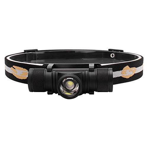 Whbage LED Head Lamp 1000lm Led Faro zoomable