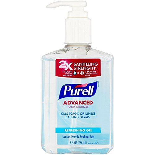 Our #4 Pick is the PURELL Advanced Hand Sanitizer
