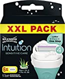 Wilkinson Intuition Sensitive Care - Maquinilla de afeitar para mujer, 6 unidades
