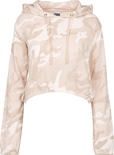 Urban Classics Ladies Camo Cropped...