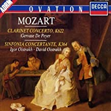 Mozart: Clarinet Concerto K622 / Sinfonia Concertante K364