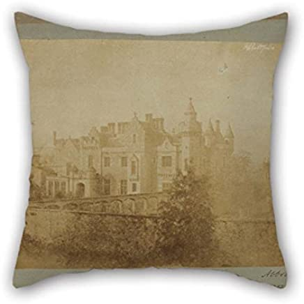 Cushion Covers of Oil Painting Sir David Brewster (Scottish - Abbotsford 16 X 16 Inches / 40 by 40 Cm Best Fit For Bar Dinning Room Kids Room Kids BF Study Room Two Sides
