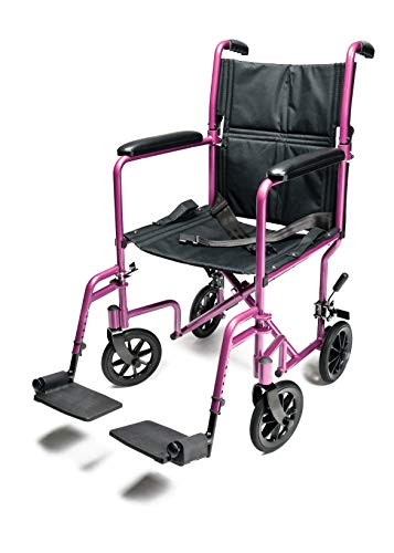yuwell Ultra Lightweight Transport Wheelchair for Children is a great transport wheelchair designed specifically for children