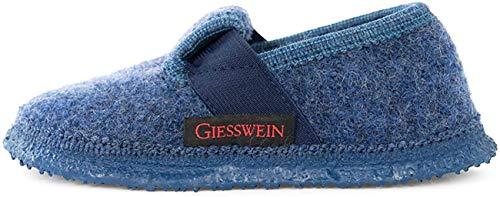 Giesswein Türnberg, Chaussons mixte enfant - Bleu (527 Jeans) - 32 EU