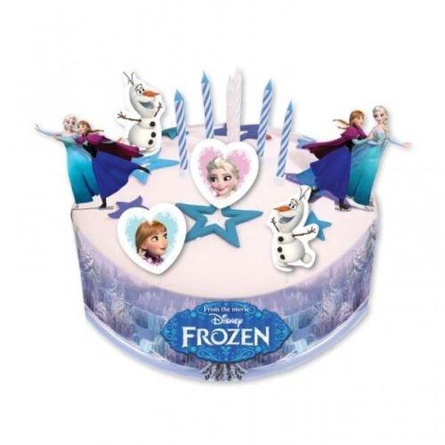 Kit de decoración de tartas con diseño de Disney Frozen
