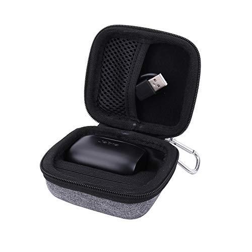 Hard Case for The Jabra Elite 75t/Jabra Elite Active 65t/Jabra Elite 65t True Wireless Earphone/Headphone by Aenllosi (Grey)