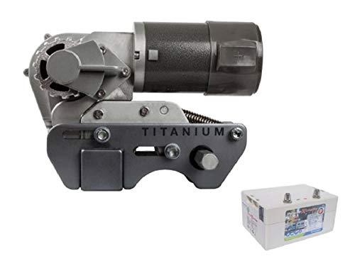 Titanium Xtreme X20 Rangierhilfe für Wohnwagen, Mover mit Batterie, Einparkhilfe