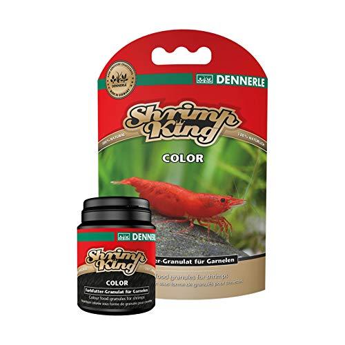 Shrimp King Color 35g - Farbfutter Granulat für Süßwasser Garnelen