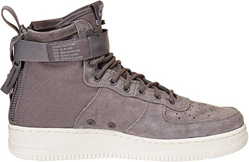 Nike Men's SF Air Force 1 Mid Shoe, Scarpe da Fitness Uomo, Multicolore (Gunsmoke/Gunsmoke/Wolf Grey/Summit White 007), 44 EU