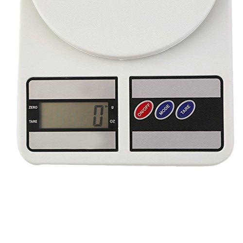 TEMPO DI SALDI Bilancia Digitale Da Cucina Elettronica Lcd Tasto Tara Casa Pesa Da 1 Gr A 7 Kg