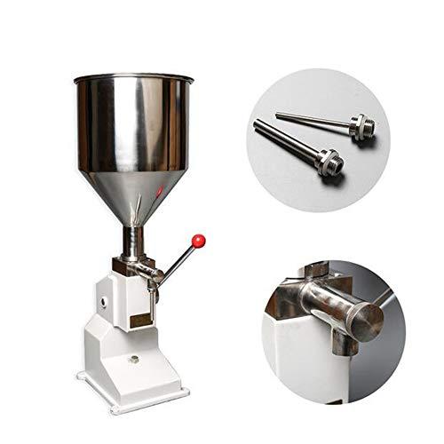 Manuelle Lebensmittel-Füllmaschine Handdruck-Creme Honig Arequipa flüssige Pasten Verpackungsanlagen Shampoo Saft Filler