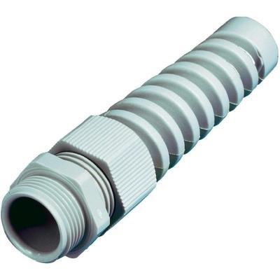 Wiska SKVS PG 16 RAL 9005 Kabelverschraubung mit Zugentlastung, mit Knickschutz PG16 Polyamid Schwarz 1 St.
