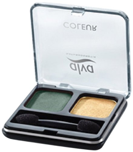 Alva Creamy Eye Shadow Duo C2 green crush, 1er Pack (1 x 3 g)