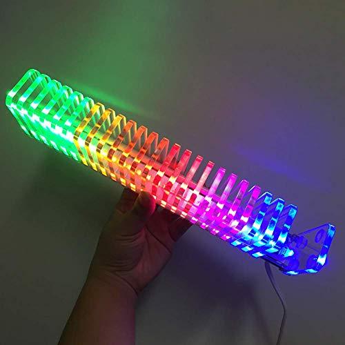 TXYFYP Música para Espectro, Ks25 Music Audio para Espectro Analizador Kit LED Fantasy Cristal Cubo Nivel Pantalla para Sistema de Audio Vacío Tubo Amplificador Bricolaje - Color, Free Size