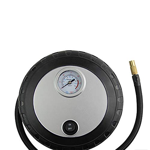 ZLIJUN Auto Luftpumpe tragbare Reifen elektrische Kunststoff-Inflator Kfz-Versicherung