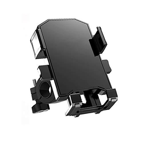 SHUAIGE Fahrrad-Lenker-Halterung für Smartphone, universelle Halteklaue, verstellbare Fahrrad- und Motorradhalterung, Rahmen mit 10,2 - 15,2 cm Bildschirmdiagonale