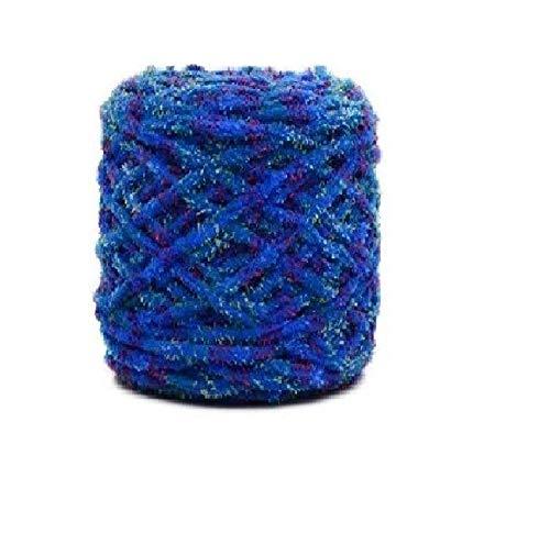 Grof gebreide lijn met de hand gehaakt, wol van de ijslijn van de sjaal van de hoed van de deken. 3 paquete