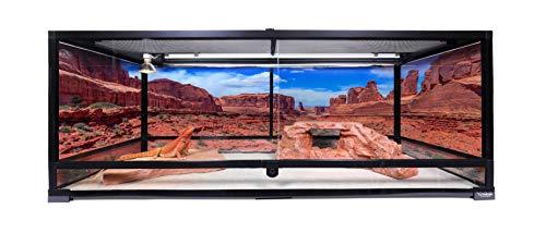 Carolina Custom Cages Terrarium, Extra-Long, 48Lx18Dx18H, Easy Assembly