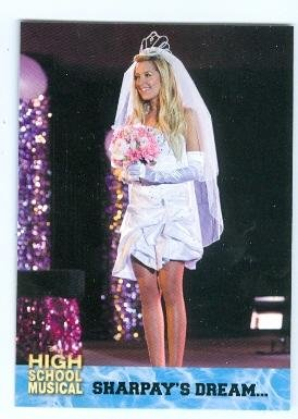Ashley Tisdale trading card High School Musical 2006 Topps #37 Sharpay Wedding Dream