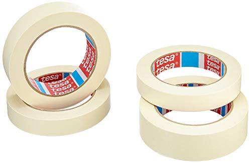 Tesa 55318 Lot de 4 Rouleaux 2 x (50 m x 19 mm) + 2 x (50 m x 30 mm)