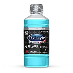 pedialyte advancedcare + electrolyte drink, berry frost