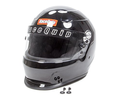 RaceQuip 273006 Gloss Black X-Large PRO15 Full Face Helmet (Snell SA-2015 Rated)