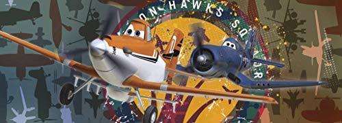 Komar-Disney Fototapete Planes Squadron, 202 x 73 cm / 1-TLG.