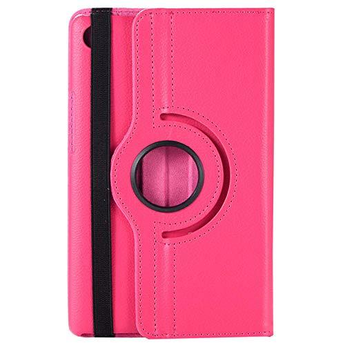 Funda de Tableta para Samsung Galaxy Tab A A6 10.1 Pulgadas con S Pen SM-P580 P585 PU Cuero DE Stock ROTING ROTING-Rosa